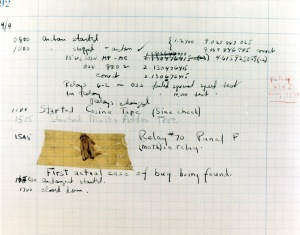 The first software bug