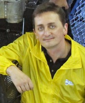 Marine biologist Jon Copley