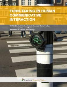 Turn-taking in human communicative interaction