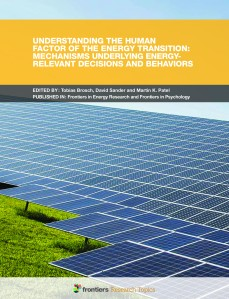 Understanding the Human Factor of the Energy Transition: Mechani