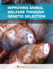 In livestock species, breeding goals are aimed primarily at improvement of production traits.