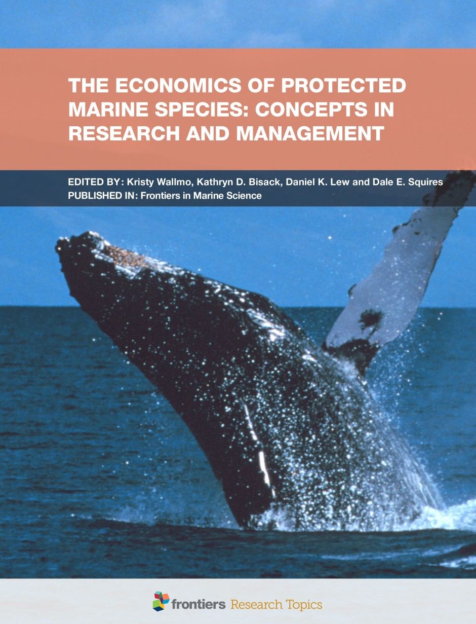 The Economics of Protected Marine Species: Concepts in Research