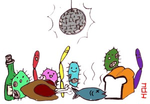 coloring-science-food-microbiology-drawing
