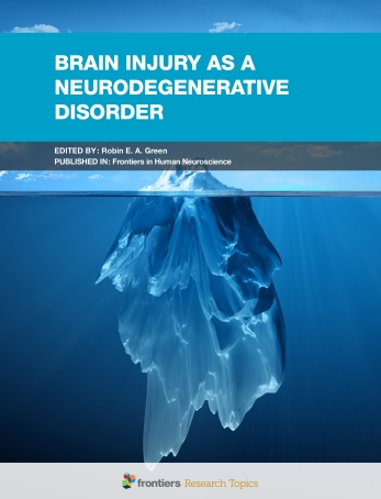 Brain Injury as a Neurodegenerative Disorder