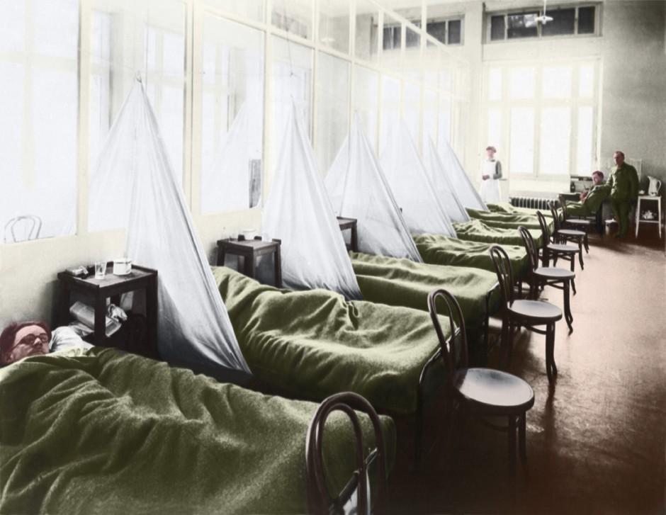 inlfuenza pandemic spanish flu catatrophe beyond WWI