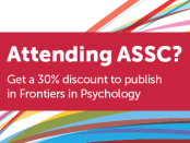 Don't forget to stop by the Frontiers Booth #4 between the 13th-16th June in the Exhibitors Halls, to find out more about our publishing program. We look forward to meeting you!