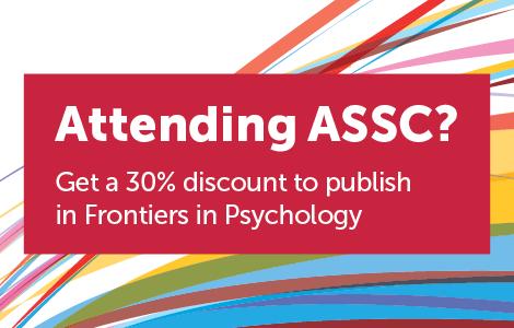 Frontiers in Psychology is attending ASSC – Science