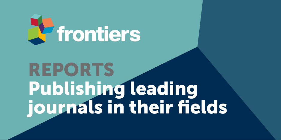 Discover the latest Frontiers report here, with key facts and contributions, and details on our leading journals, their impact  and outstanding researchers on board.