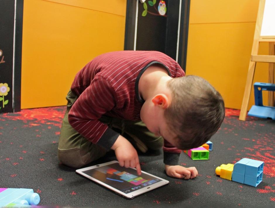 Touchscreen tablet educational apps for children