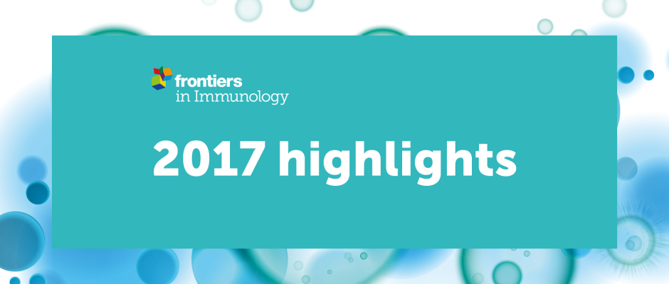 Frontiers in Immunology - 2017 highlights