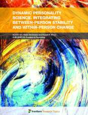 Dynamic Personality Science. Integrating Between-Person Stability and Within-Person Change, Hosted by Nadin Beckmann and Robert E. Wood