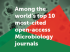 Frontiers in Cellular and Infection Microbiology is among the top 10 most-cited open-access Microbiology journals and ranks in the top Impact Factor and CiteScore percentiles
