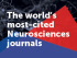 The Frontiers in Neuroscience journal series is the most-cited in the Neurosciences field & ranks in the top Impact Factor and CiteScore percentiles