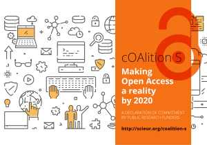 Banner for CoalitionS: Making Open Access a reality by 2020