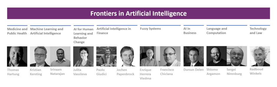 Frontiers in Artificial Intelligence Editorial Board