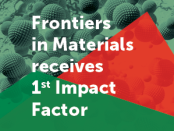 Frontiers in Materials received its first Impact Factor in 2018