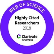 Emblem of Clarivate Analytics Highly Cited Researchers 2018 List