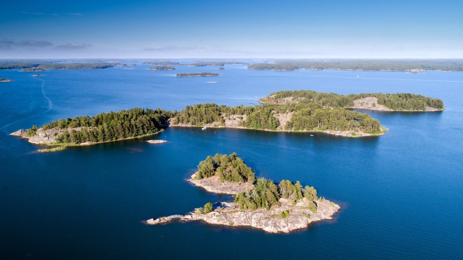 Image of Finland coast. New assessment finds lack of knowledge when designating MPAs lets important species and biodiversity slip through the net- and that small, targeted changes can have big effects on protected area efficiency: Frontiers in Marine Science