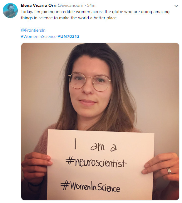 Elena Vicario on World Day for Women and Girls in Science