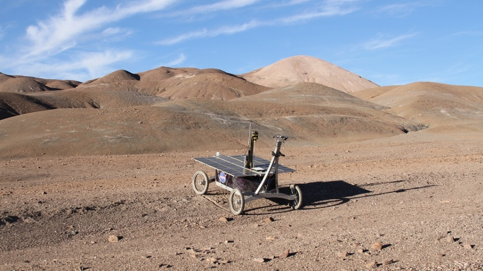 Frontiers in Microbiology: A trial NASA rover mission in the Mars-like Atacama desert has successfully recovered subterranean organisms -- strange, scattered, salt-resistant bacteria that could lead the search for Martian life deeper underground