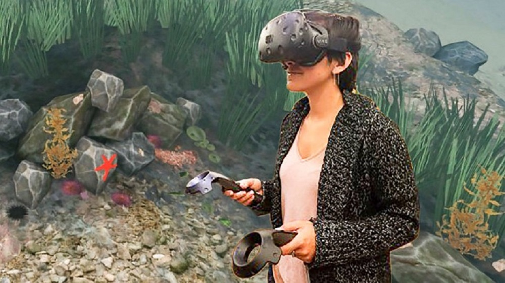 Virtual reality field trips to inspire climate action