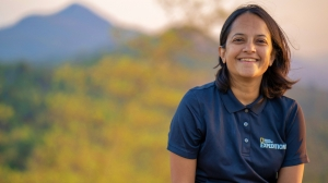 Krithi Karanth, Specialty Chief Editor of Conservation, winner of Women of Discovery 2019 award