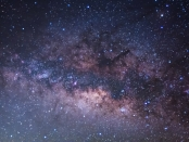 Image of the Milky Way (long exposure photograph)