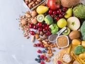 健康平衡的平衡。富含能源的食物供应。蔬菜蔬菜蔬菜生产的果实。