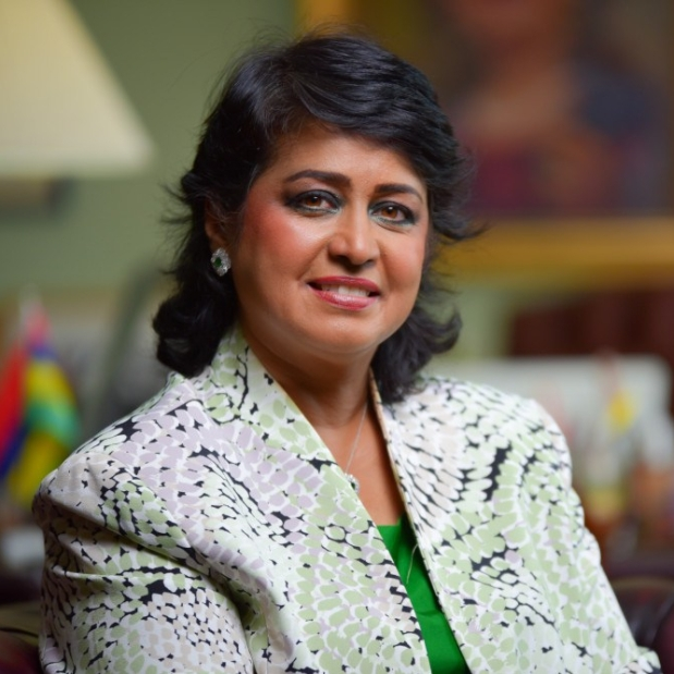 Portrait image of Ameenah Gurib-Fakim, Associate Editor of Ethnopharmacology, a section in Frontiers in Pharmacology