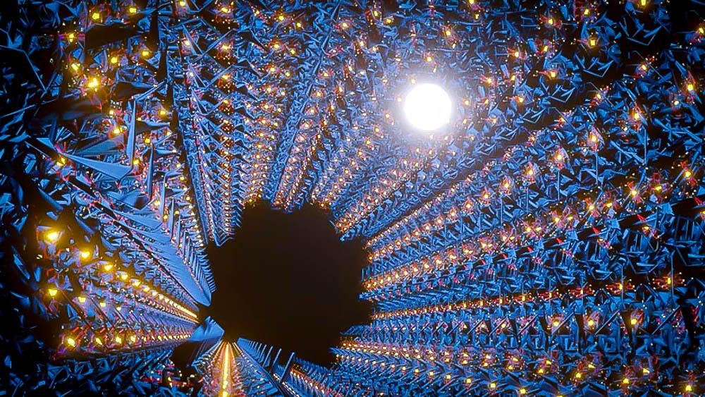 一个由细菌蛋白质构成的隧道的图像,它可以充当一条将电子转移到我们选择的目的地的高速公路,有可能应用于新药或燃料:生物工程和生物技术的前沿。万博亚洲体育吉dF4y2Ba